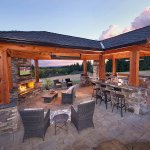 Outdoor Living Room Paradise Restored Landscaping