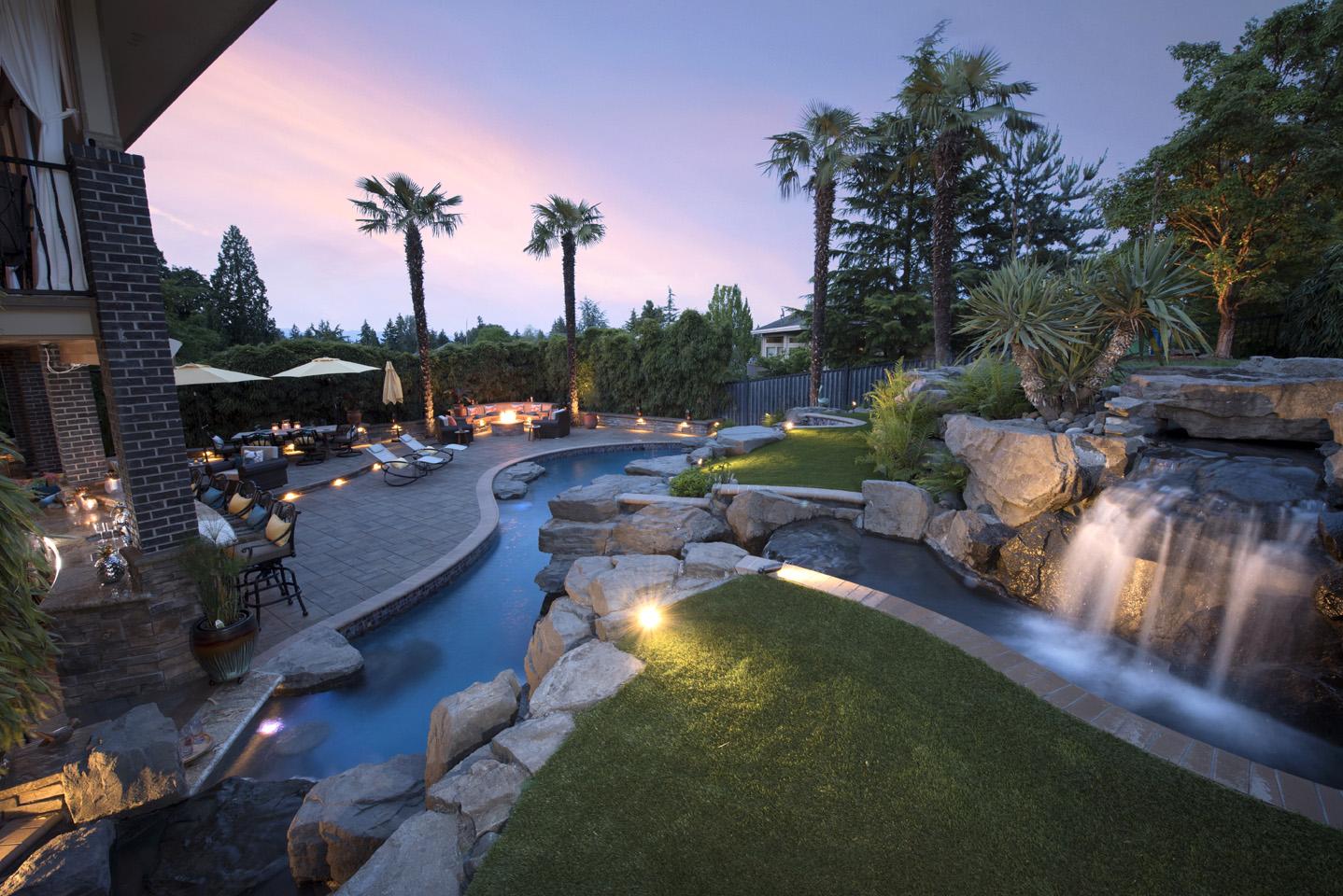 outdoor lighting ideas paradise restored landscaping