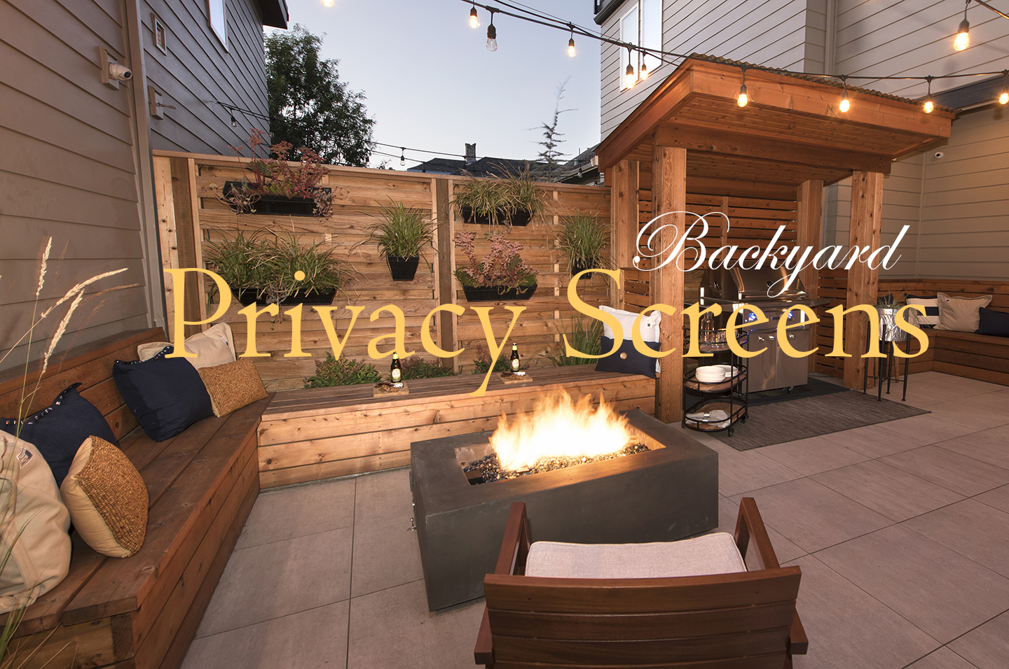 backyard privacy screens paradise restored landscaping