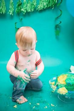 paradis photography maine family photographer cake smash