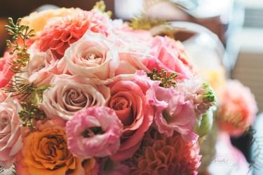 Destination Wedding Photographer Bride Preparations Bouquet