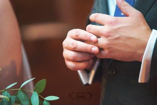 First Parish Portland Maine Wedding Ceremony Ring