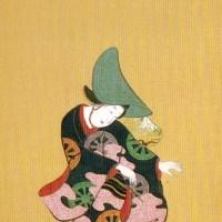 元禄踊図押絵貼屏風