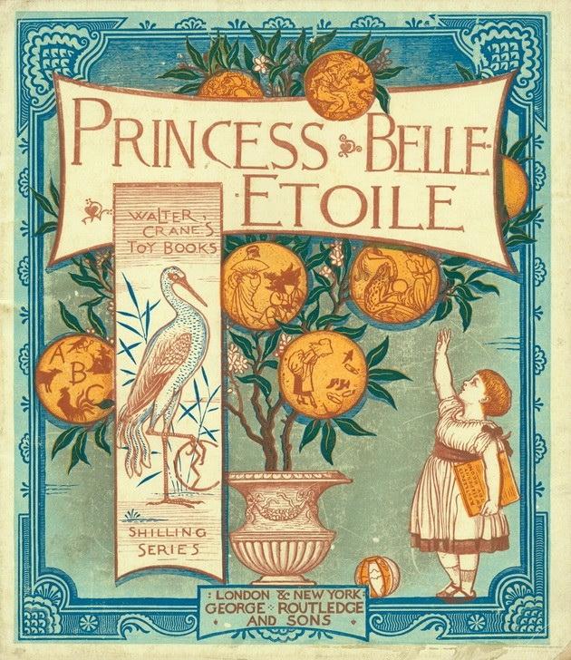 ウォルター・クレイン Walter Crane Princess Belle-Etoile