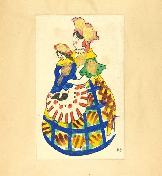 Denshin_Vyatskaya clay toy figures 1917-16
