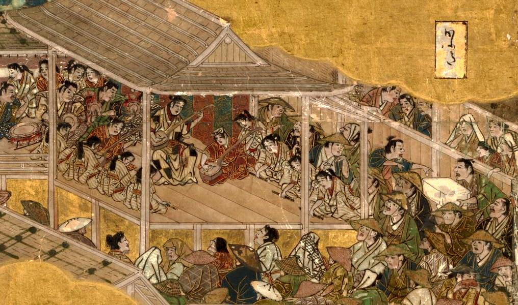 岩佐又兵衛 Iwasa Matabei 洛中洛外図 舟木本Folding Screens of Scenes In and Around Kyoto (Funaki Version)-19