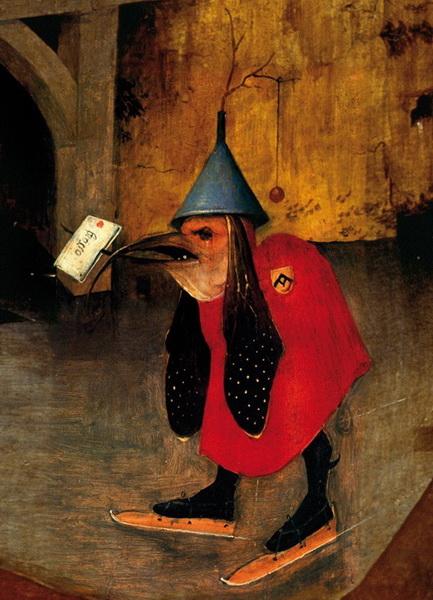 ヒエロニムス・ボス Hieronymus Bosch 聖アントニウスの誘惑(左翼) The Temptation of St. Anthony left wing