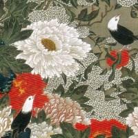 動植綵絵 22  牡丹小禽図  Botan Shokin-zu (Peonies and Small Birds)