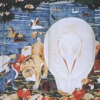 樹花鳥獣図屏風  Juka Choju-zu Byobu(Birds and Animals in the Flower)