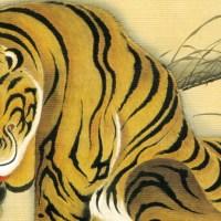 虎図  Tora-zu(Tiger)
