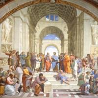 ラファエロ『アテネの学堂』