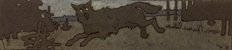イワン・ビリービン Ivan Bilibin_Билибин イワン王子と火の鳥と灰色オオカミ_Prince Ivan, The Firebird and the Grey Wolf_12