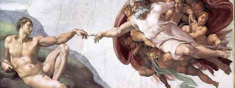 Michelangelo's 'Creation of Adam' paradox
