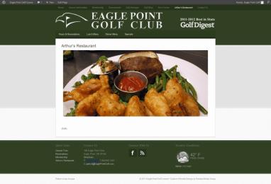 Arthurs Restaurant - Eagle Point Golf Course