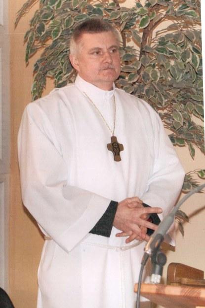 p. Janusz Wojciechowski - Nadzwyczajny Szafarz Komunii Św.