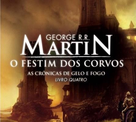 capa do livro O Festim dos Corvos