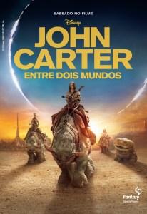 capa do livro John Carter - Entre dois Mundos