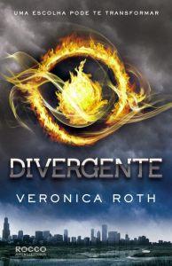 capa do livro Divergente - série Divergente #1