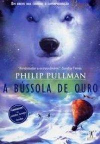capa do livro A Bússola de Ouro - Philip Pullman