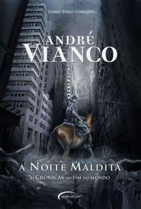 capa do livro A Noite Maldita - André Vianco