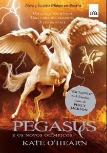 capa do livro Pegasus e os Novos Olímpicos - Kate O'Hearn
