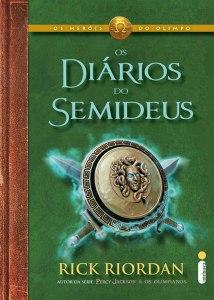 capa do livro Os Diários do Semideus - Rick Riordan