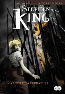 capa do livro O Vento pela Fechadura - Stephen King