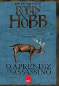capa do livro O Aprendiz de Assassino - Robin Hobb