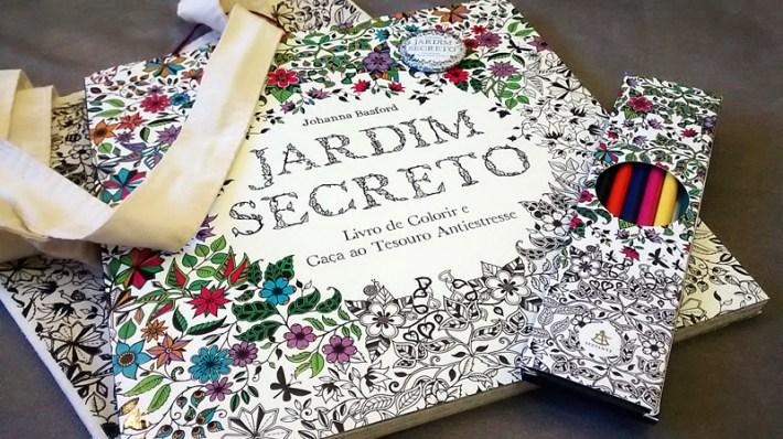 Jardim Secreto - Johanna Bradford