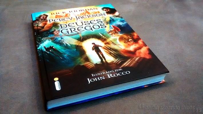 Percy Jackson e os Deuses Gregos - Rick Riordan