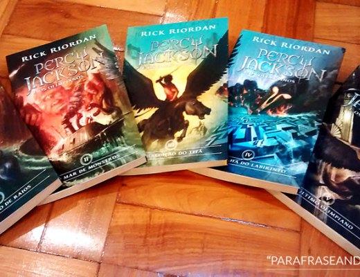 Coleção Percy Jackson e os Olimpianos - Rick Riordan