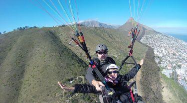 Paragliding Signal Hill