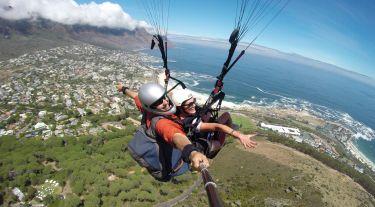 Paragliding Lions Head