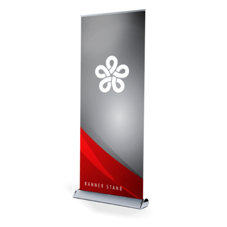 Retractable Banner Stands 7 feet high by 3 feet wide
