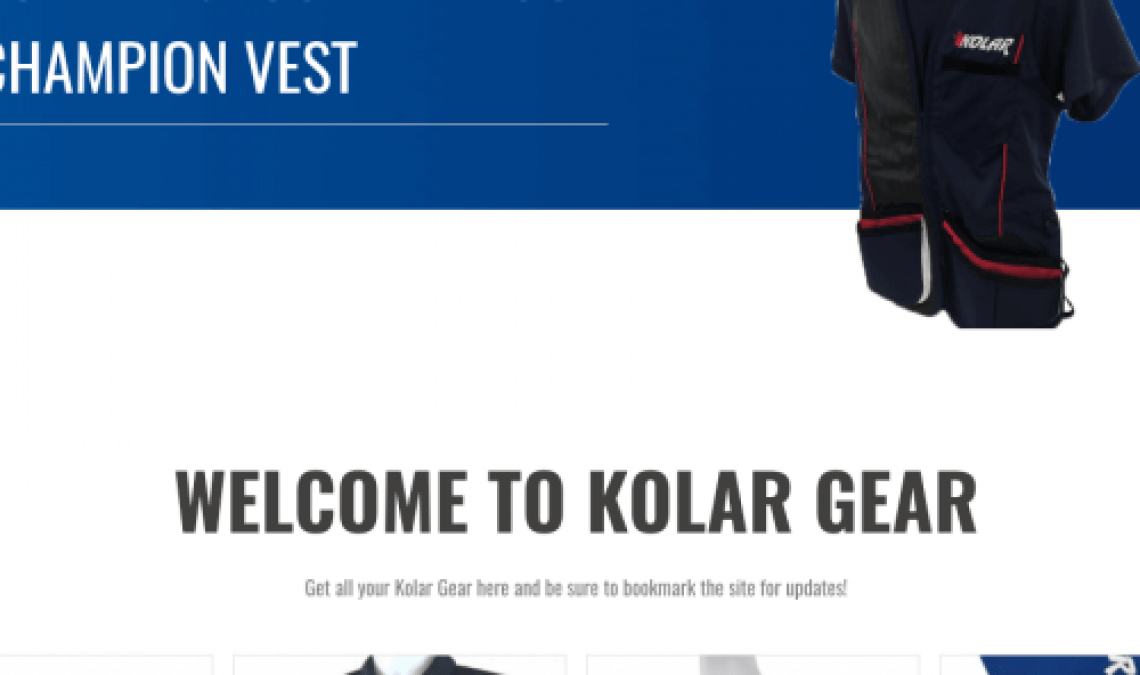 This is an example of one of our sites, Kolar Gear Website.