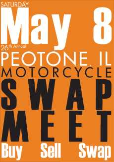 Peotone Motorcycle Swap Meet - May 8th 2010 - Peotone, IL