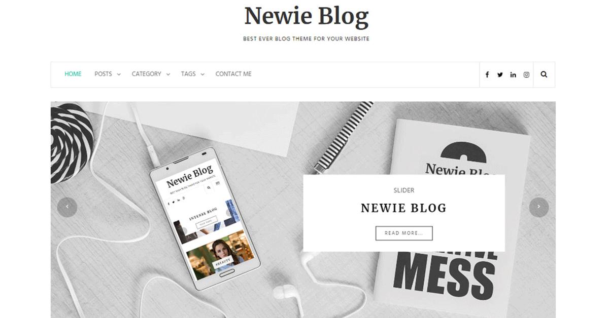 newie blog