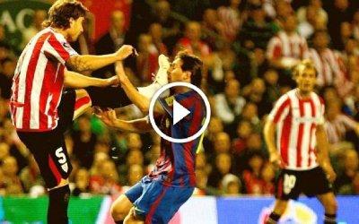 A 8 años de la brutal patada de Amorebieta a Messi (Vídeo)