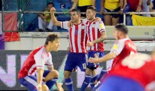 Colombia vs Paraguay (1-2) Goles, Resumen, Eliminatorias Rusia 2018