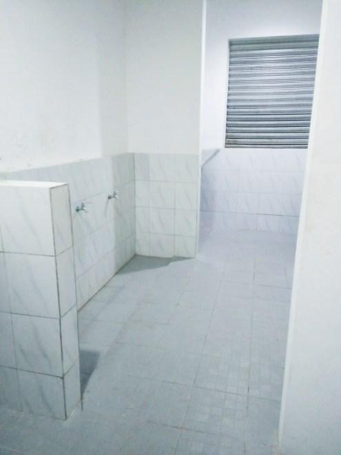 Tempat Mencuci tersedia 10 untuk setiap lantai