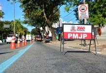 Trecho da Epitácio Pessoa será bloqueado nesta quinta para serviço emergencial