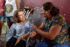 Moradores denunciam a Cida precariedade do mercado público do Castelo Branco