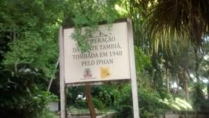 Interditada para visitação, fonte da Bica aguarda conclusão de obra pela PMJP