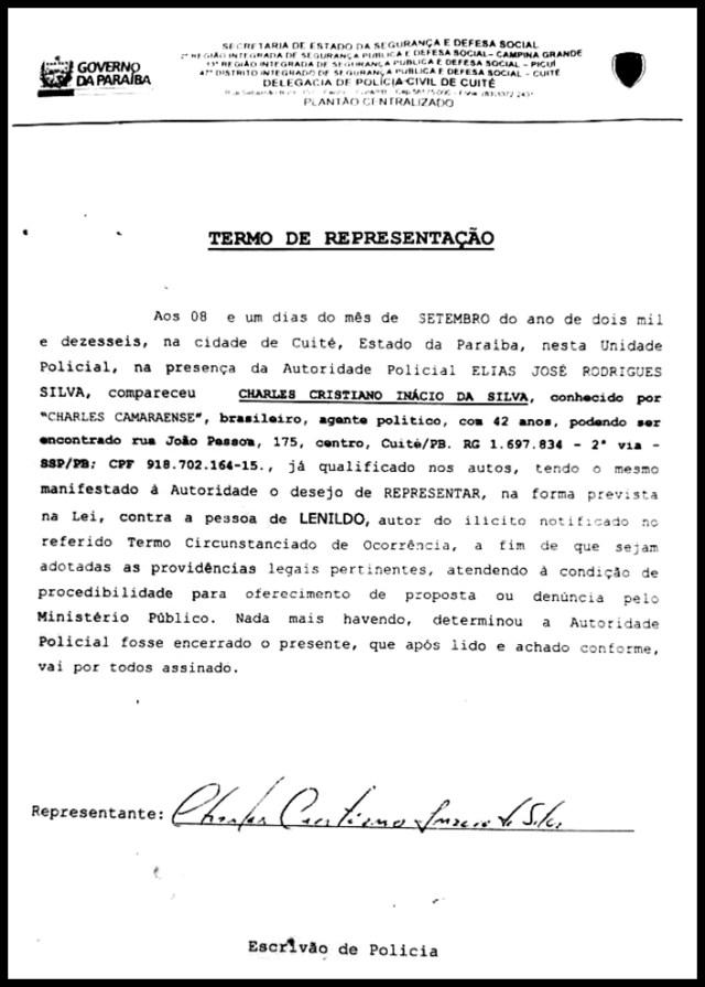 Candidato a prefeito no interior da Paraíba é vítima de perseguição e ameaça de morte