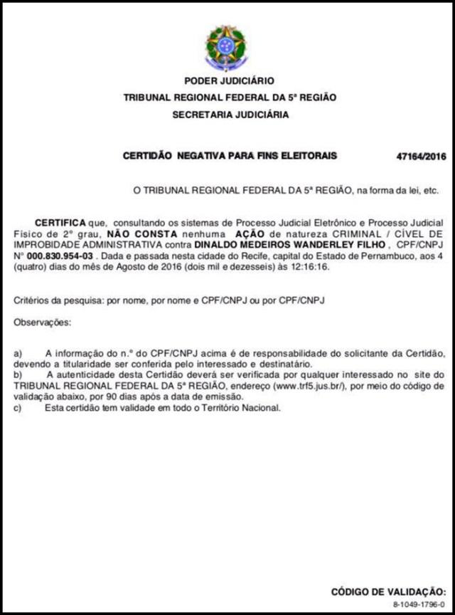 Direito de Resposta: Dinaldinho rebate Nabor Wanderley sobre fraude no INSS