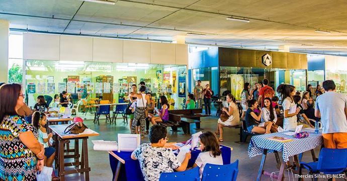 Funesc realiza oficina sobre noções de preservação em obras de arte