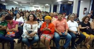 Vídeo: Em seminário do PSB, Gervásio critica Cartaxo e manda recado para a oposição