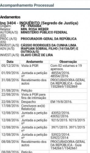 Dinheiro voador: Inquérito que investiga Cássio tem nova movimentação no STF
