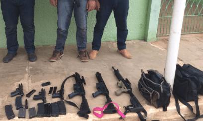 Suspeitos de explodirem banco em Taperoá são presos com arsenal