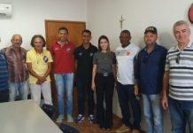 Prefeita de Monteiro conhece comissão técnica do Vasco, que fará peneira na cidade